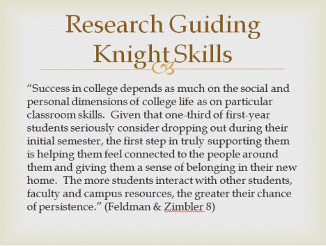 Knight Skills